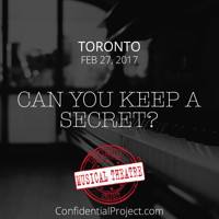 Confidential Musical Theatre Project in Toronto