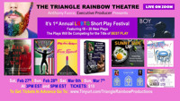 Triangle Rainbow Productions LGBTQ Short Play Festival 2021 in Off-Off-Broadway