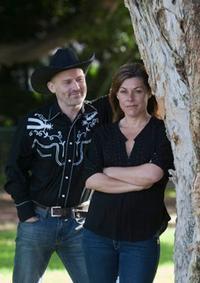 Rhinestone Rex & Miss Monica in Australia - Brisbane