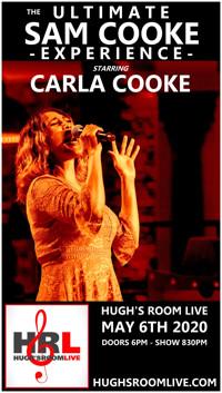 Hugh's Room Live Presents Carla Cooke in Toronto