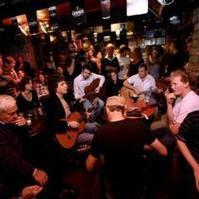 Traditional Irish Session in Ireland