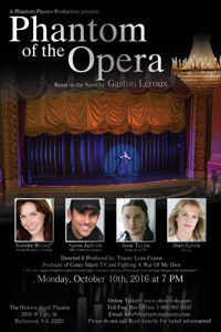 Phantom of the Opera- a one night only benefit! in Richmond