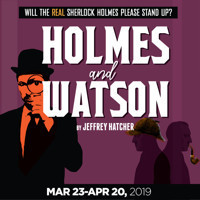 Holmes and Watson in Broadway