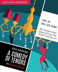 Ken Ludwig's A Comedy of Tenors in Detroit