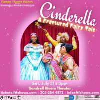 Cinderella: A Fractured Fairytale in Miami Metro Logo