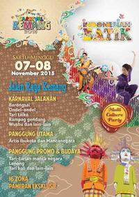 Multi Culture Party Carnival Kemang 2015 in Indonesia