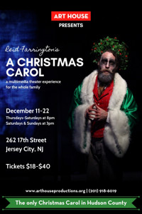 Reid Farrington's A Christmas Carol in New Jersey