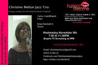 Christine Melton Jazz Trio in Rockland / Westchester