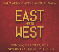 Palo Alto Players Gala 2019: East Meets West in San Francisco