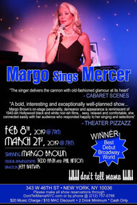 Margo Sings Mercer in Rockland / Westchester