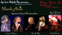 March Aires - Broadway Stars in Concert in Rockland / Westchester