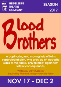 Blood Brothers in Australia - Melbourne