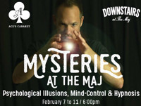 Mysteries at the Maj in Broadway