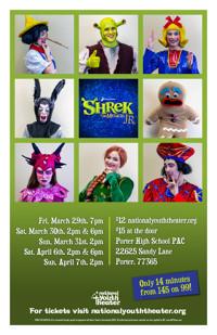 Shrek, The Musical, Junior in Houston