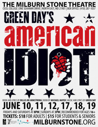 GREEN DAY'S AMERICAN IDIOT in Baltimore