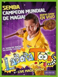 El Mago Semba en Laboratoons, Live Magic Show. in Argentina
