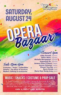 Opera Bazaar in Vancouver