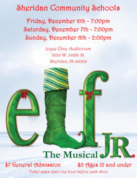 ELF-THE MUSICAL JR. in Indianapolis