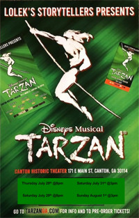 Disney's Tarzan the Musical in Atlanta