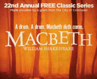 William Shakespeare's MACBETH in San Diego