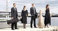 Tinalley String Quartet with John Bell Speak Less Than You Know in Australia - Sydney