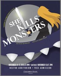 She Kills Monsters in Columbus