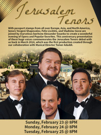 Jerusalem Tenors in Fort Lauderdale