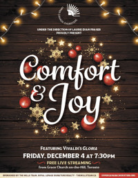 Comfort and Joy: A Holiday Offering ? A Live-streaming Concert in Toronto