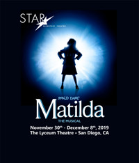 Matilda The Musical in San Diego