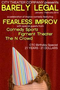 Barely Legal, An Improv Showcase in Delaware