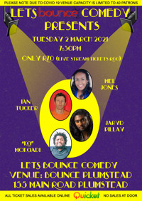 Lets Bounce Comedy in South Africa