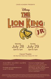 Lion King Jr. in Broadway