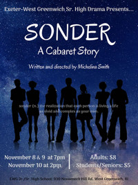 Sonder: A Cabaret Story presented by Exeter-West Greenwich Senior High Drama in Rhode Island