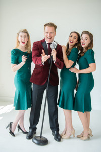 SWINGING ON A STAR, A SALUTE TO BING CROSBY AND THE ANDREWS SISTERS, STARRING JARED BRADSHAW  in Chicago