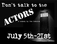 Don't Talk to the Actors A Comedy by Tom Dudzick in Broadway