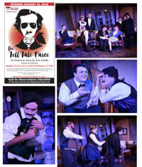 The Tell-Tale Farce at Stagecoach Theatre: Jan 12 through Feb 3 in Broadway