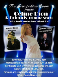 Celine Dion & Friends Tribute Show in Other New York Stages