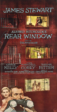 Movie Classics at the Ritz Theatre present Rear Window in Off-Off-Broadway