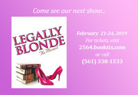 Legally Blonde -The Musical  in Fort Lauderdale