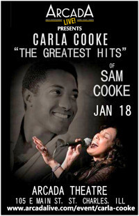 The Greatest Hits of Sam Cooke Starring Carla Cooke in Chicago