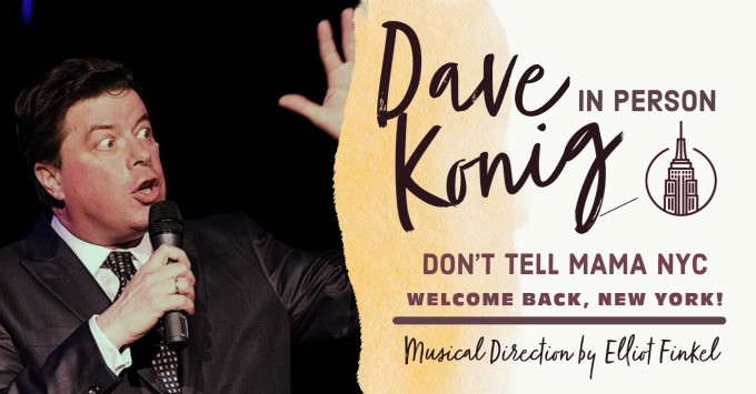 Dave Konig - In Person