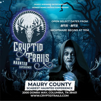 Cryptid Trails the Haunted Experience in Nashville