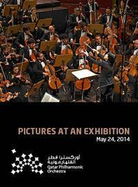 Pictures at an exhibition in Qatar
