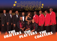 The Sounds of the 60's Tour: The Drifters, The Platters & Cornell Gunter's Coasters in Austin