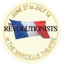 ?The Revolutionists? in Broadway