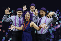 "Lucy Kalantari and the Jazz Cats - ""It's the Holidays"" concert in Central New York"