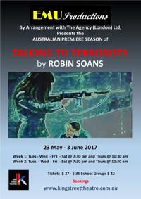 TALKING TO TERRRORISTS by Robin Soans in Australia - Sydney