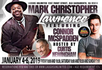 Mark Christopher Lawrence LIVE at Laughs Unlimited in Sacramento