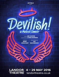 When a cute male Angel crash-lands in metropolitan London, how long before he is corrupted by the devilish delights on offer? in UK / West End