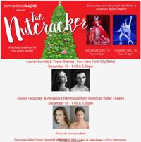 Connecticut Ballet's The Nutcracker in Connecticut